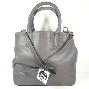 NWT B-Low The Belt Gray Leather Purse Shoulder Bag